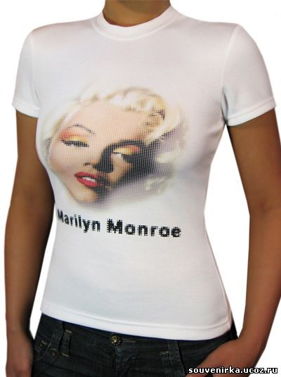 футболка белая СУПЕР женская о образная