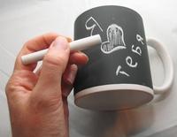 кружка для рисования мелком