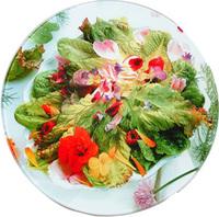 Доска разделочная стеклянная, круглая с текстурной поверхностью с печатью фотографий или лого